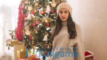Photos: Sonal Chauhan celebrates Christmas
