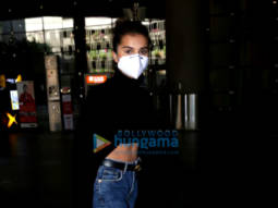 Photos: Tara Sutaria, Ahan Shetty and Dhvani Bhanushali snapped at the airport