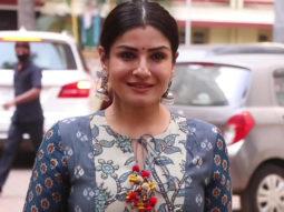 Raveena Tandon snapped at Bandra