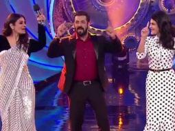 Salman Khan ek minute mein kitne THUMKE laga sakte hain- Raveena & Jacqueline reply Bigg Boss14