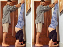 Superfit mom-to-be Anushka Sharma gives massive fitness goals by doing headstand with the help of Virat Kohli