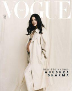 Anushka Sharma On The Cover Of Vogue, Jan 2021