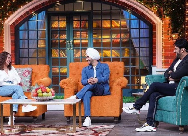 Newlyweds Neha Kakkar and Rohanpreet Singh arrive on The Kapil Sharma Show; Kapil has hilarious reaction to their PDA