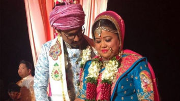 Comedian Bharti Singh and husband Haarsh Limbachiyaa share unseen pictures from their wedding on their 3rd anniversary