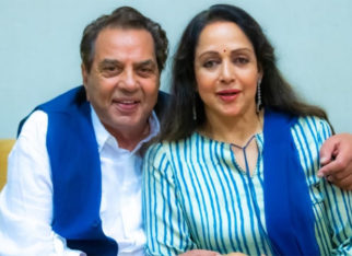 Hema Malini shares a 'yesteryear and now' picture on Dharmendra's birthday