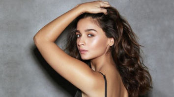 Alia Bhatt's casual flexing in a black slip dress has our attention