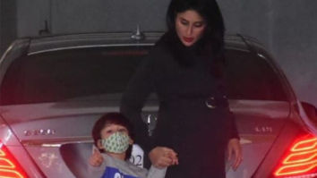Taimur Ali Khan has a special instruction for the paparazzi as he steps out with mother Kareena Kapoor Khan; watch