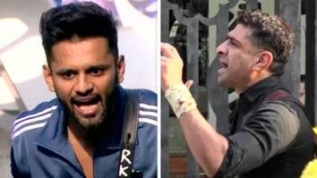 Bigg Boss 14: Rahul Vaidya promises to expose Eijaz Khan's truth; latter calls him 'fattu' for leaving the house