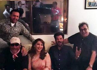 32 Years Of Ram Lakhan Madhuri Dixit reunites with Anil Kapoor, Jackie Shroff, Subhash Ghai, Anupam Kher