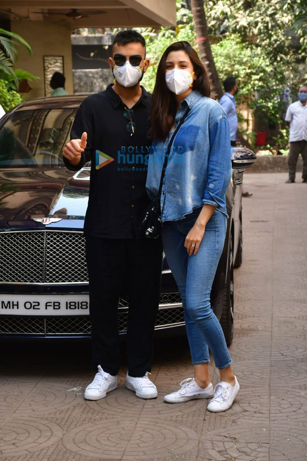Anushka Sharma and Virat Kohli make their first appearance since the birth of their daughter
