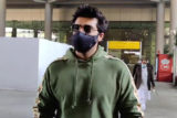 Arjun Kapoor and Yami Gautam spotted at Airport