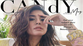 Kritika Kamra on the cover of Candy Mag, Jan 2021