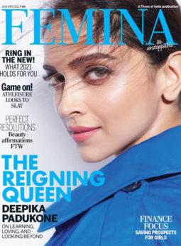 Deepika Padukone On The Cover Of Femina