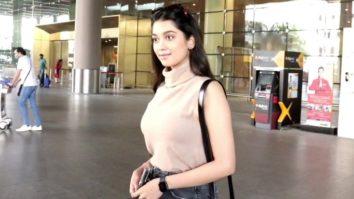 Digangana Suryavanshi spotted at Airport