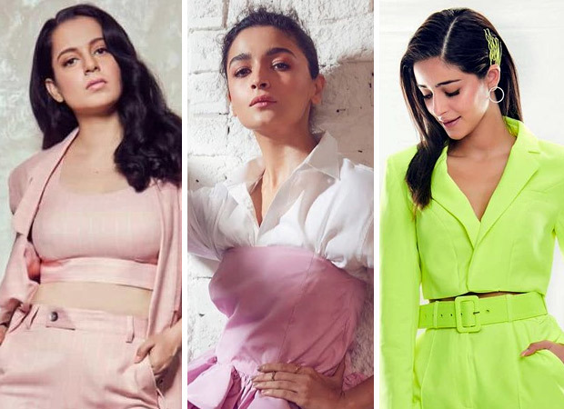 From vibrant pant-suits to desi glam, get your weekday fashion right with Bollywood Divas