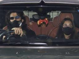 Kartik Aaryan spotted at the airport as he drops his Sister