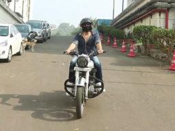 Kartik Aaryan spotted in Filmcity for his shoot