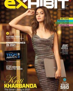 Kriti Kharbanda On The Cover Of Exhibit