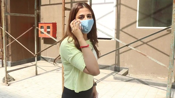 Nupur Sanon spotted at Gym