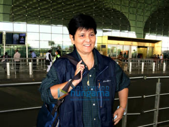Photos: Alia Bhatt, Falguni Pathak and Warina Hussain snapped at the airport