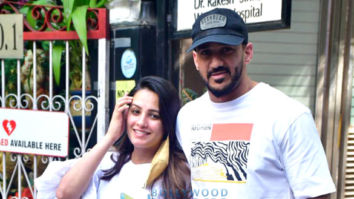 Photos: Anita Hassanandani and husband Rohit Reddy spotted at Women's Hospital in Khar