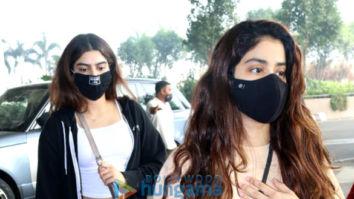 Photos: Janhvi Kapoor, Khushi Kapoor, Kartik Aaryan, Arshad Warsi and others snapped at the airport