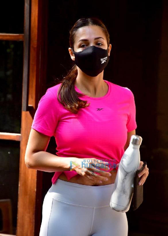Photos: Malaika Arora spotted at Diva Yoga studio