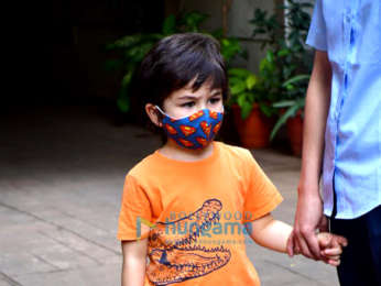 Photos: Taimur Ali Khan spotted in Bandra
