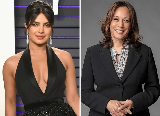 """Welcome to the club, America"" - says Priyanka Chopra on The Late Show With Stephen Colbert when asked about US Vice President Kamala Harris"