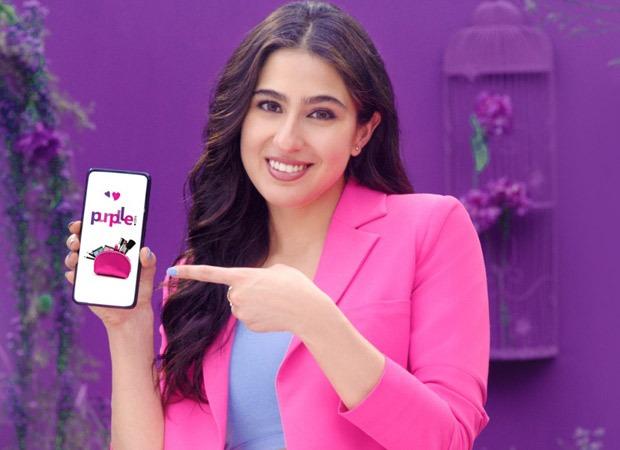 पर्पल अपने पहले ब्रांड एंबेसडर के रूप में सारा अली खान को साइन करती हैं;  #GoPurplle कैंपेन शुरू किया