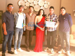 On The Sets From The Movie R Madhavan and Khushali Kumar's Next