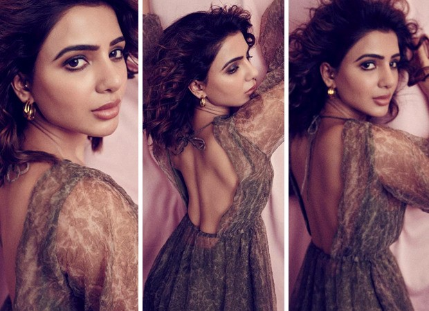 Samantha Akkineni makes a statement in a sheer backless tier dress worth Rs. 16, 500