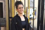 Sanya Malhotra spotted at Gym Khar