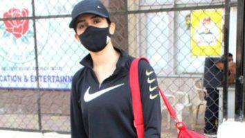 Sanya Malhotra spotted at Santacruz