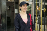 Sanya Malhotra spotted outside her gym