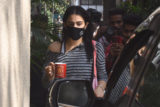 Sara Ali Khan spotted at Gym Bandra