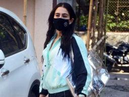 Sara Ali Khan spotted at Pilates gym Santa Cruz