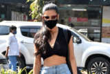 Shruti Haasan with bf spotted at Bandra