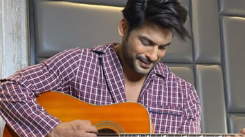 Sidharth Shukla poses with a guitar while flashing his million-dollar-smile leaving the fans smitten!
