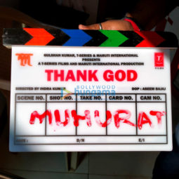 On The Sets From The Movie Thank God