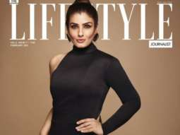 Raveena Tandon On The Covers Of The Lifestyle