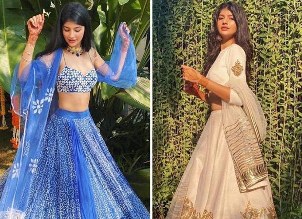 Varun Dhawan's niece Anjini Dhawan stuns in gorgeous traditional ensembles for the wedding festivities