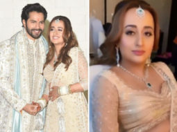 Varun Dhawan - Natasha Dalal Wedding: Stunning bride gives a glimpse of glittery rosy makeup look