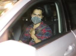 Varun Dhawan Snapped At Maddock Films Office Khar