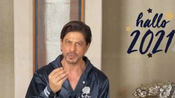 """""""See you all in 2021 on the big screen,"""" says Shah Rukh Khan in his witty and creative New Year video message"""