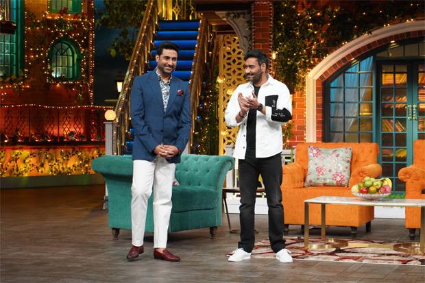 The Kapil Sharma Show: The team of Big Bull including Abhishek Bachchan and Ajay Devgn grace the show