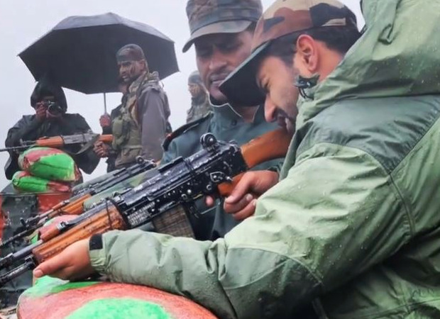 Indian Army Day 2021: Vicky Kaushal salutes the brave men of the army as he recalls being at an altitude of 16000 ft