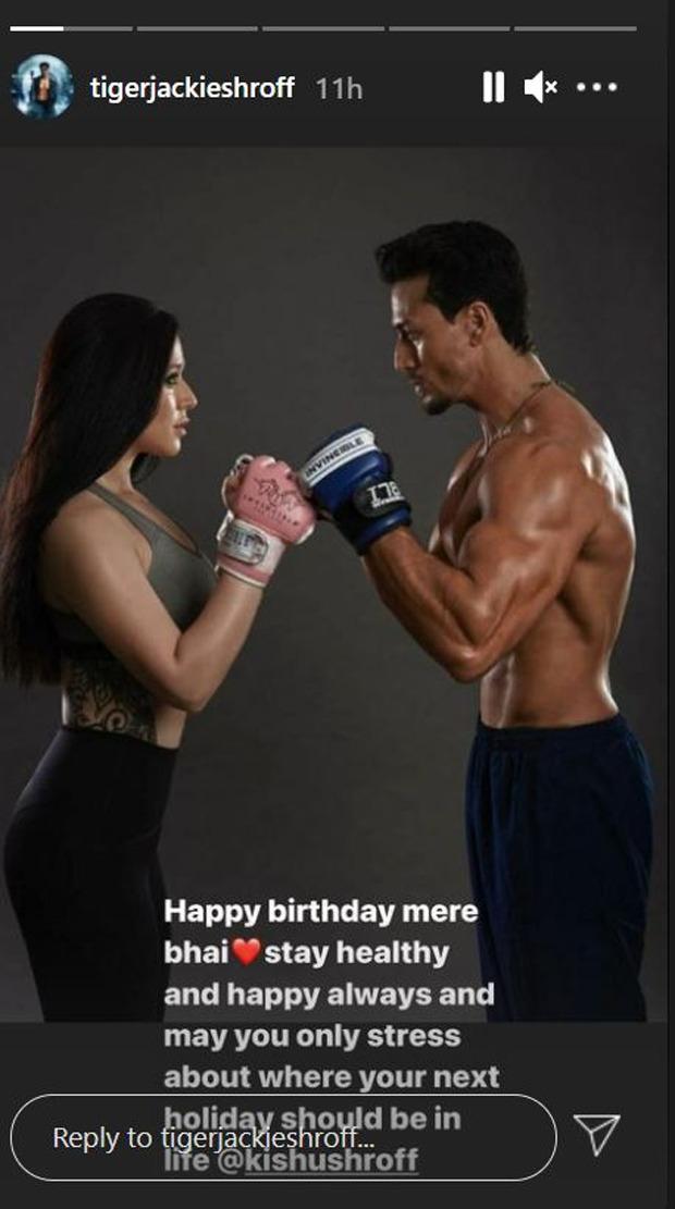 Tiger Shroff's sister Krishna Shroff looks stunning in her birthday suit; says '28 looks good on her'