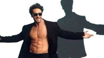 Tiger Shroff shares BTS video of his favourite moment from his latest song Casanova