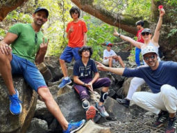 Hrithik Roshan shares a glimpse from his trekking trip with his sons